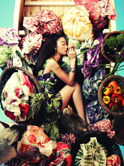 dolcegabbana:  Ji Hye Park in Dolce&Gabbana for Vogue Korea, June 2012