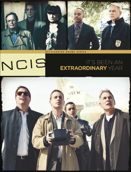 alyssinmymind:  Emmy Awards 2012 - For Your Consideration - NCIS - Outstanding Drama Series - It's been an EXTRAORDINARY Year ( bigger version > right click > open in a new tab )