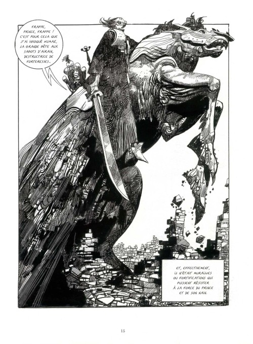 Sergio Toppi, Sharaz-De (coming out this fall in english from Archaia)