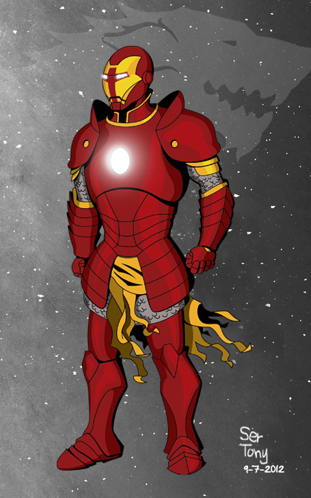 Just finished Ser Tony Stark! If he can't protect the Starks you can be damn sure he will avenge them…