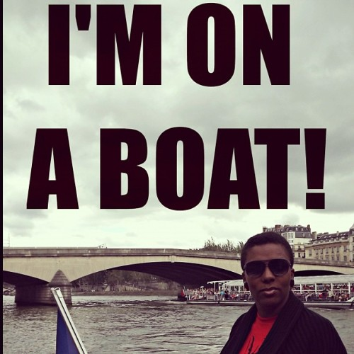 I'm on a boat! #seineriver #france #paris #snl #boatlife (Taken with Instagram at La Seine)