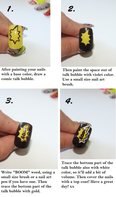 "Tutorial for ""The big boom theory"" nails! Part 2 xx"