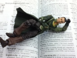 """Well Hello there,"" (Loki rather likes the description of himself in the Dictionary…)"