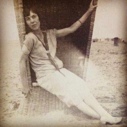 At the beach, 1920's (Taken with Instagram)