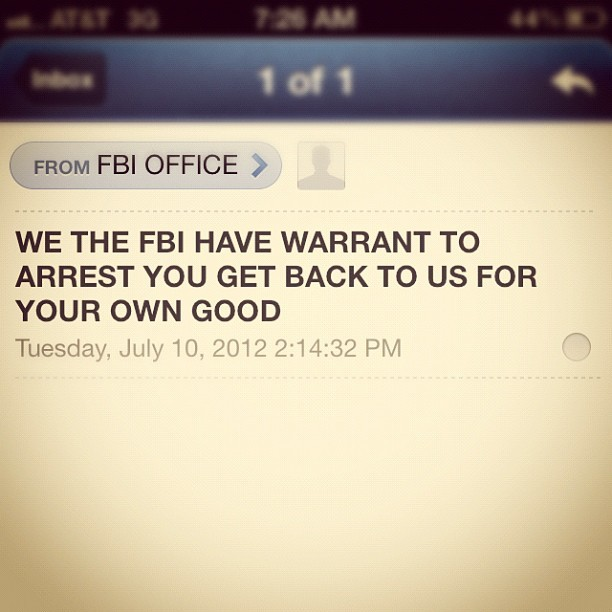 For my own good… (Taken with Instagram at J Edgar Hoover FBI Building)