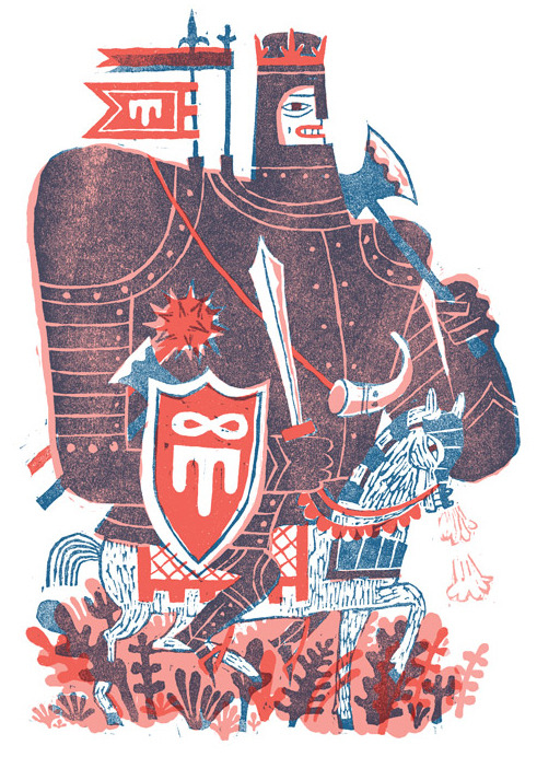 Prepare for battle! piece in this month's Plansponsor. Thanks to wonderful AD SooJin!