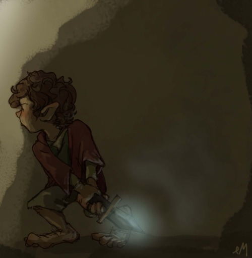 doublenegativemeansyes:  bilbo baggings in the dark