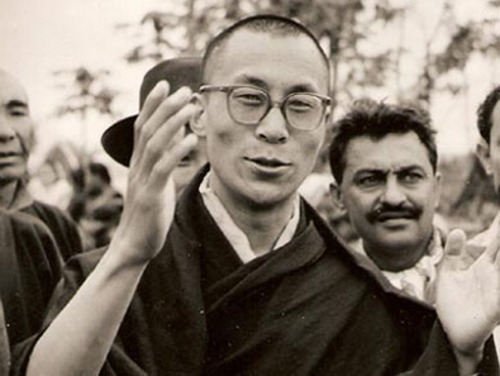 "journalofanobody:  Dalai Lama, 1959 ""Because we all share an identical need for love, it is possible to feel that anybody we meet, in whatever circumstances, is a brother or sister. No matter how new the face or how different the dress and behavior, there is no significant division between us and other people. It is foolish to dwell on external differences, because our basic natures are the same."" ― Dalai Lama XIV, An Introduction to the Teachings and Philosophy of the Dalai Lama in His Own Words"