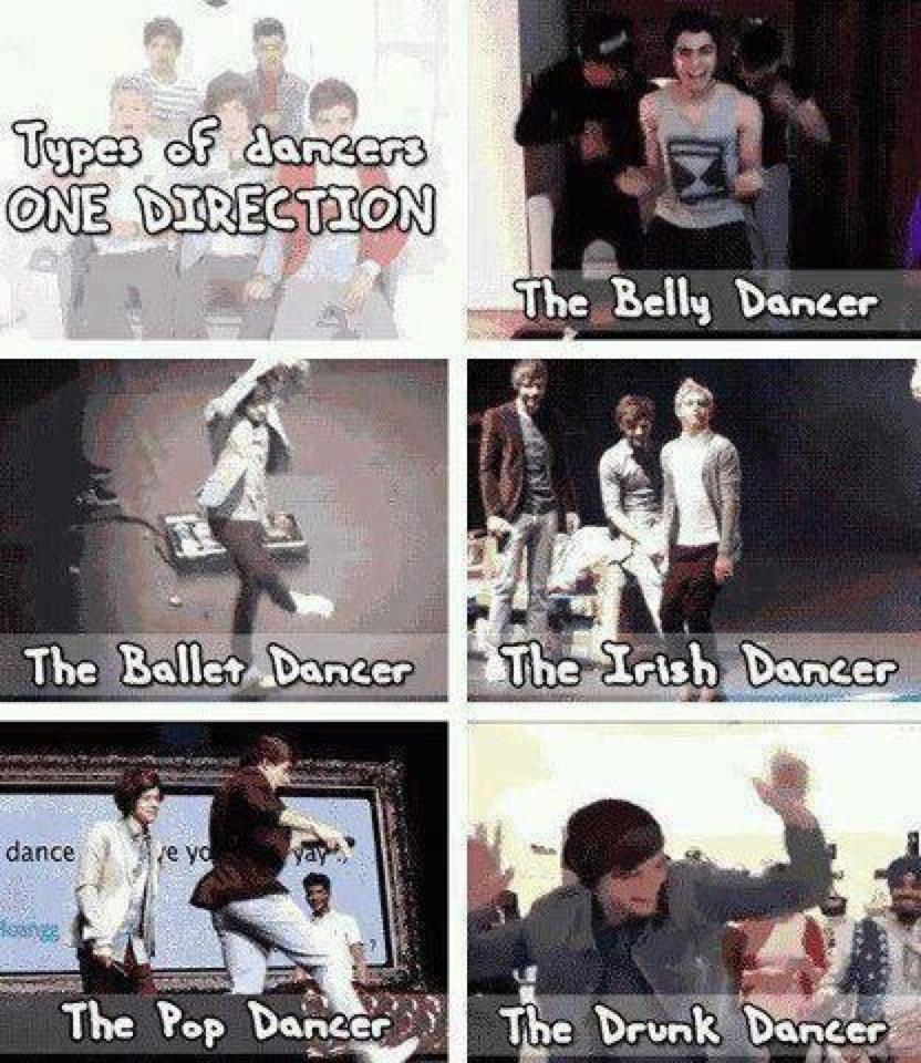 One Direction Dances ♥