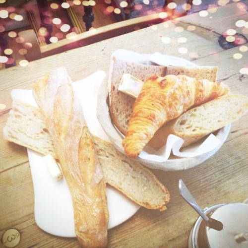 Baguette & croissants 🍞 - @leblogdebetty- #webstagram
