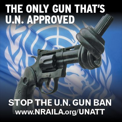 The Only Gun That's UN Permitted - Stop The UN Gun Ban
