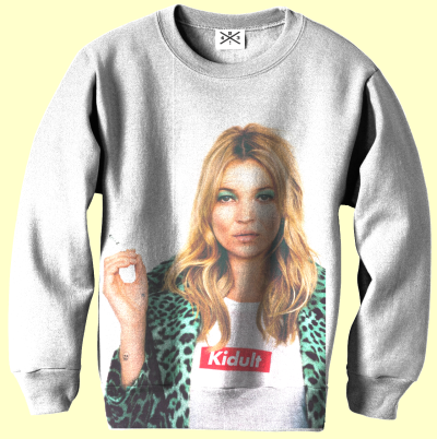 my-sweater:  Sweater Kidult against Kate Moos x Supreme by R43! Design