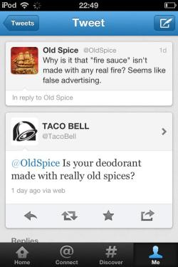 death-by-lulz:    Well played, Taco Bell.  Be sure to follow this blog, it'll look great on your dashboard