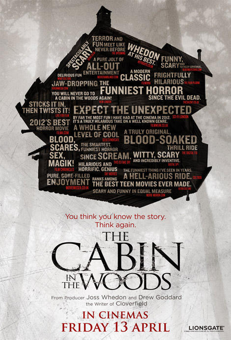 FILM 2012: #31. The Cabin in the Woods Click on the image for the review on the main site!