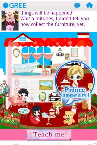 I finally got the chance to play Be My Princess for Gree!! (Android ver.) ajhajsjshdjk The chibi Prince Joshua and Will; I cannot even.