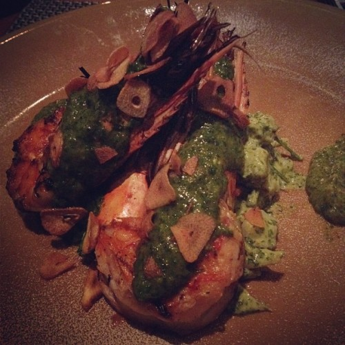 Grilled King Prawn #dinner #prawn #yummy  (Taken with Instagram at SKYE)