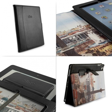 National Gallery iPad 3 Case – Leather Style Trafalgar Square by Proporta