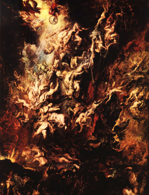 luminacoeli:  Peter Paul Rubens, The Fall Of The Rebel Angels.