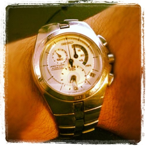 #seiko #arctura #kinetic #chronograph (Scattata con Instagram)