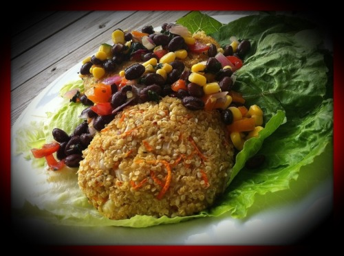 (Click here for recipe Quinoa Cakes)