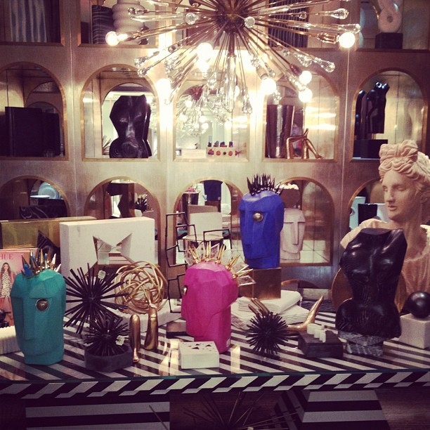 officialstyledotcom:  My favorite room @bergdorfs @kellywearstler. ML (Taken with Instagram)  Inspiration Beloved Media - www.beloved-media.com