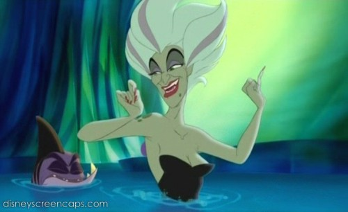 Pat Carrol, who voiced Ursula in the original The Little Mermaid, voiced Morgana in The Little Mermaid II: Return to the Sea.