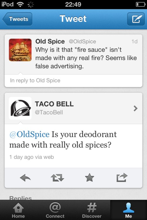 "papermag:  Taco Bell was like, ""Not today, gurl."" More funny stuff here."