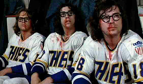 "So awesome!! Great movie, too!  nhlbruins:  Dave ""Jack"" Hanson (left) is new Bruins winger Christian Hanson's dad."