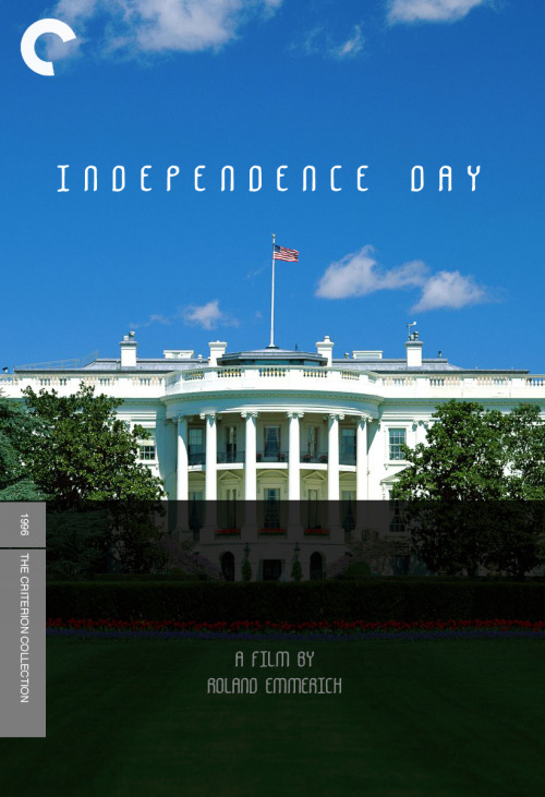Independence Day (1996), directed by Roland Emmerich A quick little number designed for Fake Criterions' $9 Air Conditioning challenge.