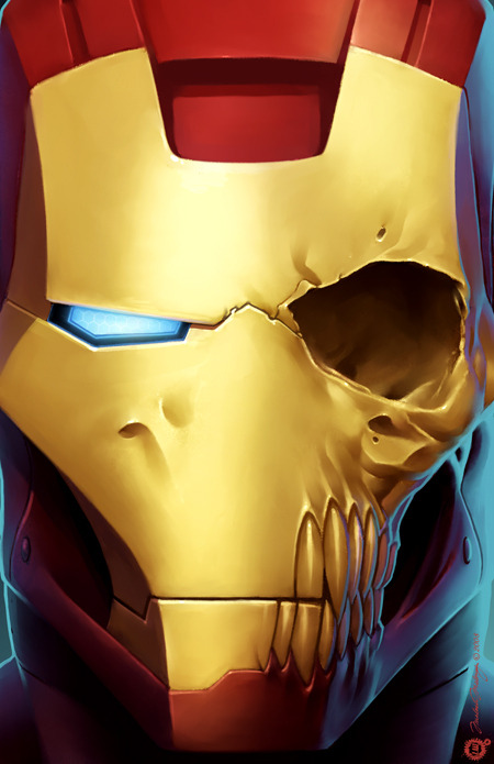 herochan:  Iron Man is Dead Created by Malachi Maloney Blog | Tumblr
