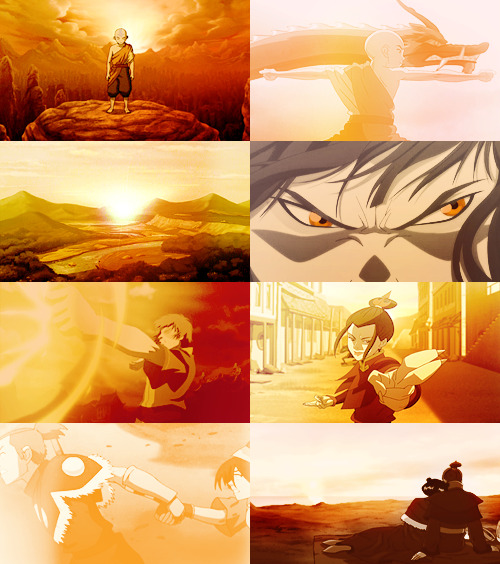 avatar: the last airbender + orange (for icarusfalls and gristwidget)