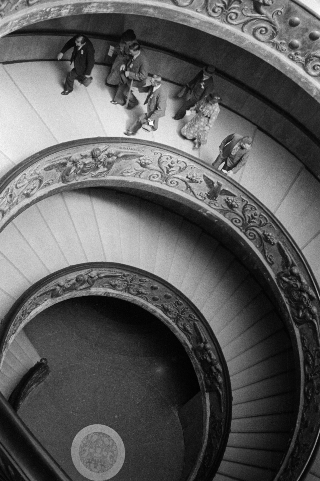 firsttimeuser:  Vatican stairs, 1936 by Steef Zoetmulder