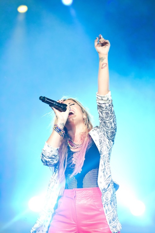 Get tickets for the summer tour at http://www.demilovato.com