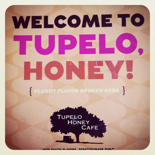 Yum, yum. (Taken with Instagram at Tupelo Honey Cafe South)