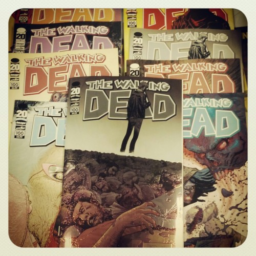 The Walking Dead #100 @slavicinferno on instagram