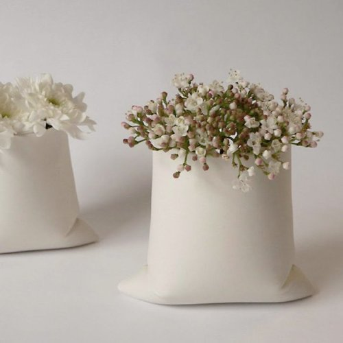 Pillow Vases by Petra Sajkas
