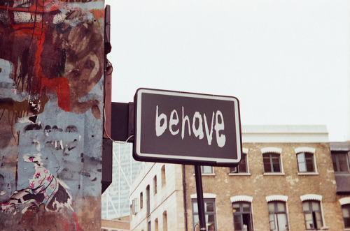 Behave on Flickr.