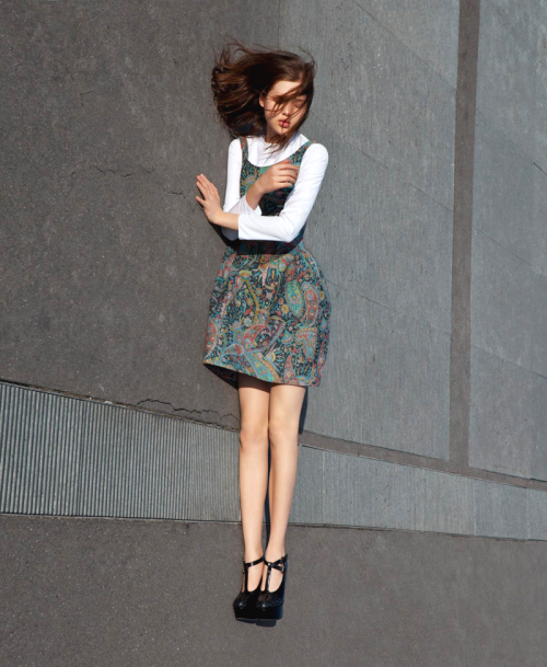 philoclea:  Anais Pouliot by Viviane Sassen for Carven, Fall 2012