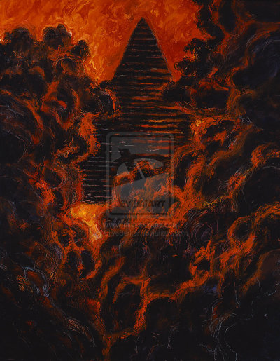 nehmherinah:  The Cataclysm by *CliveBarker