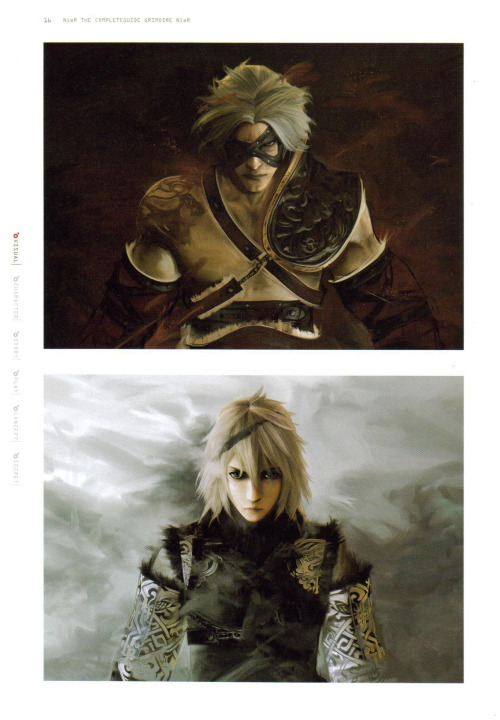 Father and Brother (scanned from Grimoire NieR)
