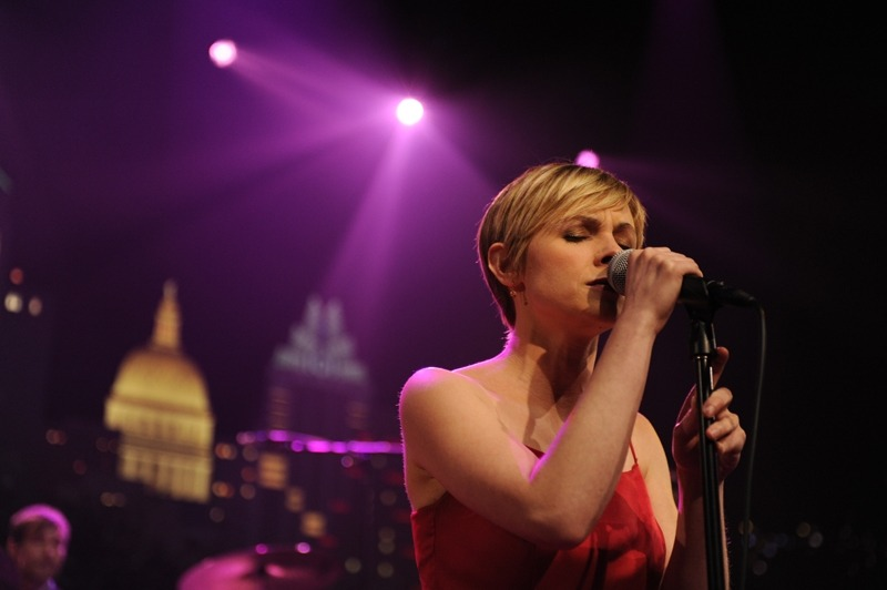Kat Edmonson at Austin City Limits last night, photo by Scott Newton.