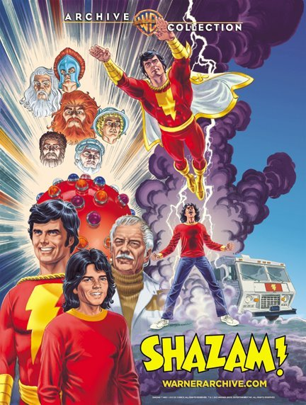 Shazam! Warner Archive by Jerry Ordway