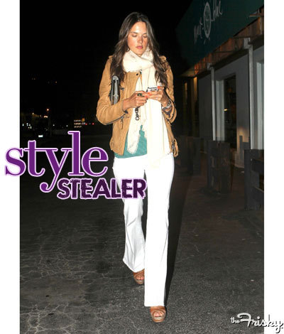 Want to get Alessandra Ambrosio's look? Find out how HERE!