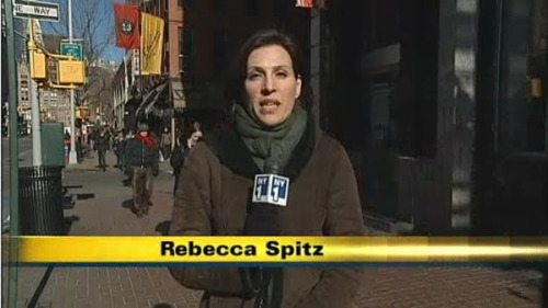 People Who Don't Rap But Have Rapper Names: Rebecca Spitz