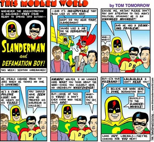 This Modern World: Slanderman and Defamation Boy!
