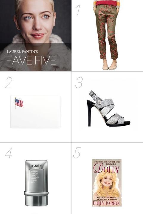 Our fabulous Associate Market/Shopping Editor, Laurel Pantin, shares her fave five pieces for summer with Thakoon.
