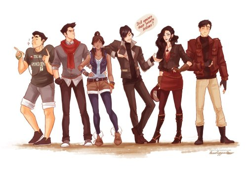 modern team Uh-vatar by *viria13  asami im looking at you