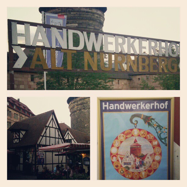 Taken with Instagram at Handwerkerhof Nürnberg