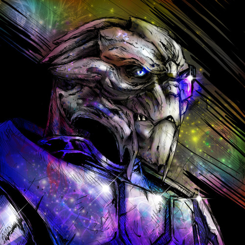 superpuppet:  Garrus from Mass Effect