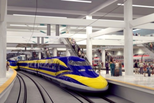 "California is about to spend $68 billion for a 400 mile ""high speed"" train. NASA spends $18 billion a year and just landed on Mars.  Think about that. @Suga_Shane"